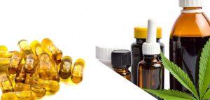 CBD capsules vs CBD oil