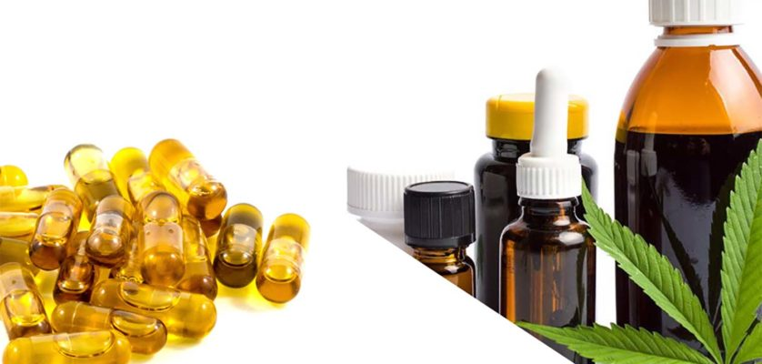 CBD capsules vs CBD oil